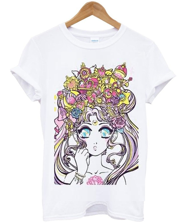 miss kika sailor moonlight legend tshirt ZX03