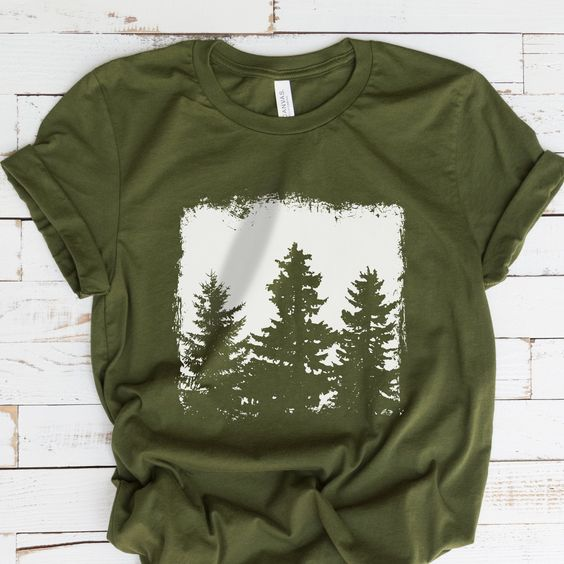 Forest Silhouette T-Shirt REW