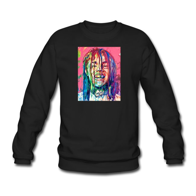 6ix9ine Paint Art sweatshirt REW