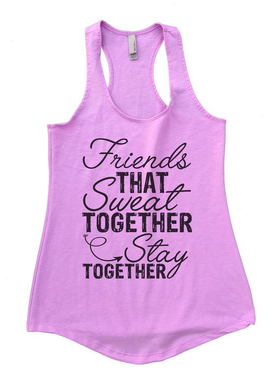 FRIENDS SWEAT STAY TOGETHER TANK TOP ZX06