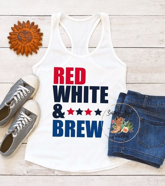 4th Of July tank TOP ZX06