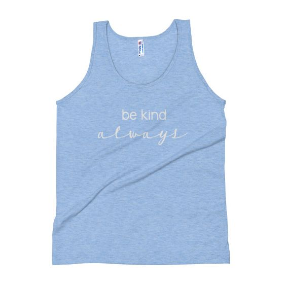 BE KIND TANK TOP ZX06