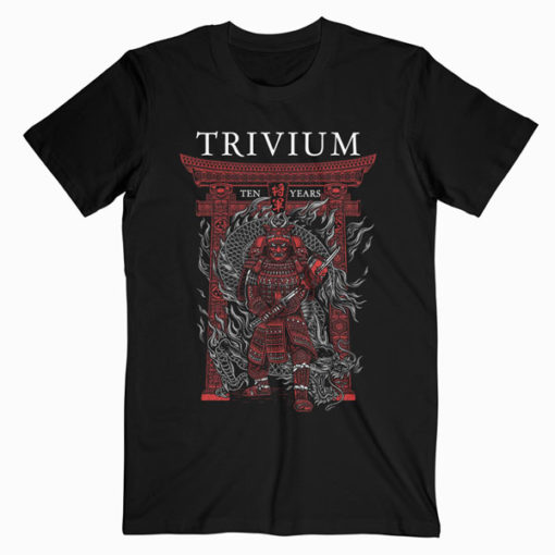 Trivium Liane Plant Band T-Shirt RE23